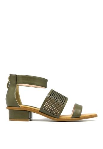 "Carlo Rino green Carlo Rino 33340-B028-36 1""Strappy Dress Sandals FD6CCSHD56FCFDGS_1"