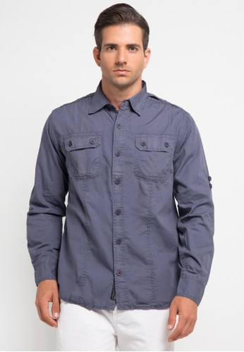 Bombboogie blue Energic Shirt BO419AA0V719ID_1