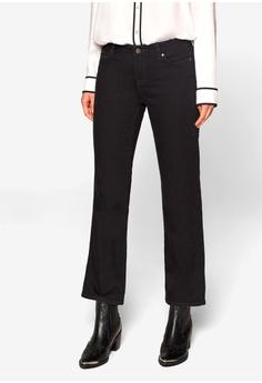 206dac1e31ec3 ESPRIT black Crop Flared Leg Jeans 51231AA33185E6GS 1