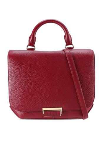 ELLE 紅色 Lorrena Satchel Bag C964BAC28C8E65GS_1