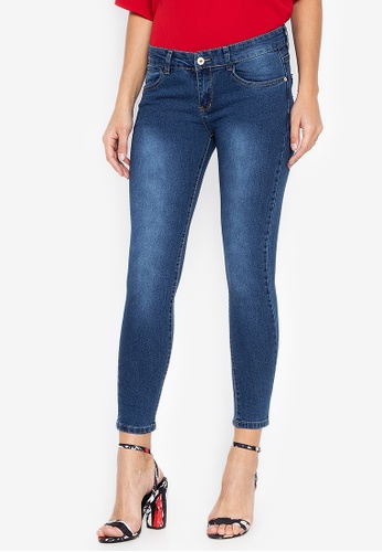 CHILI PEPPER blue Low Rise Skinny Jeans 81135AAB01AE72GS_1
