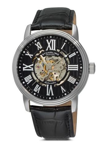 Stuhrling Original black Delphi Venezia Watch ST251AC56FPFMY_1