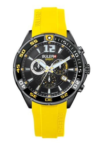Buler black Buler Sport Watch - Black - Gents - Date - 6H BU689AC2VG0MHK_1