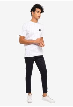 64b7a089eea4da 20% OFF River Island Maison Riviera Stripe Slim T-Shirt S$ 26.90 NOW S$  21.50 Sizes S M L XL
