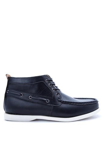H2Ocean black Becker Boat Shoes H2527SH76CQLPH_1