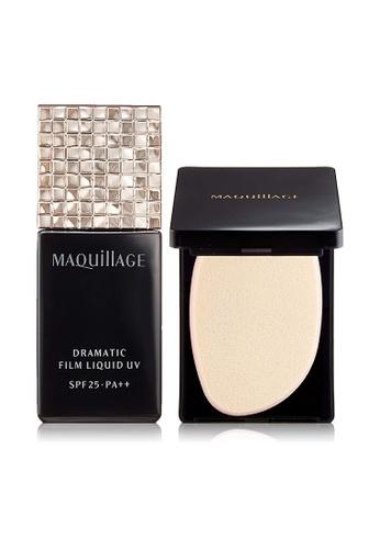 Shiseido beige MAQuillAGE Dramatic Liquid UV Foundation OC10 34F04BE745533EGS_1