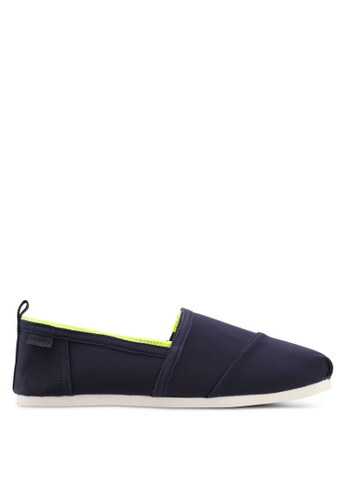 Superdry navy Kai Slip On Shoes 79B42SH735A56BGS_1