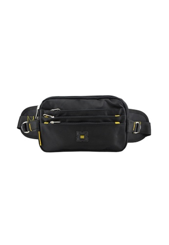 EXTREME black Extreme Nylon waist bag casual chest bag travel adventure hiking fanny pack 88778AC3740AE1GS_1