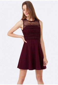 Lilly Lace Top Dress