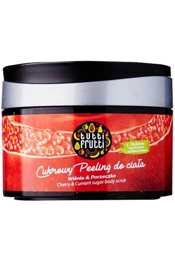 Tutti Frutti Tutti Frutti Cherry and Currant Sugar Body Scrub CA1C8BE8B84A56GS_1