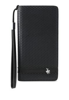 Swiss Polo Zipper Long Wallet