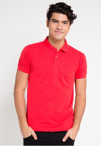 Hassenda red Short Sleeve HA130AA0VPEMID_1