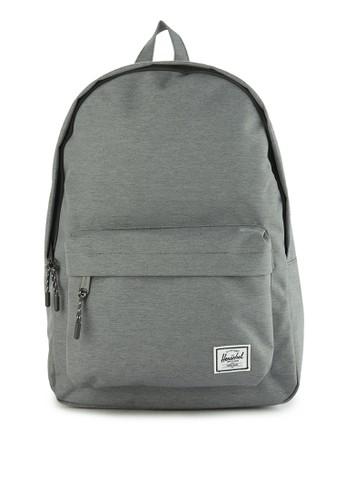 Herschel grey Classic Backpack 39492ACA2EC849GS_1