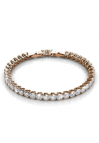 Her Jewellery gold Her Jewellery Venus Bracelet (Rose Gold) with Premium Grade Crystals from Austria 0A2D2AC2AC643BGS_1