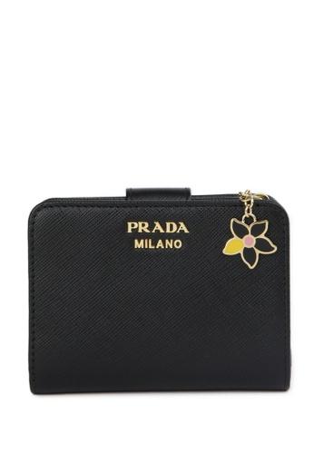 Prada black Wallet 24F51ACB45FF37GS_1