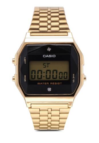 Casio gold Casio Watch A159WGED-1DF D33E7AC9B2E888GS_1