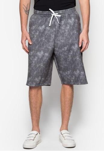 AAA Mono esprit 折扣Printed Rain Shorts, 服飾, 短褲