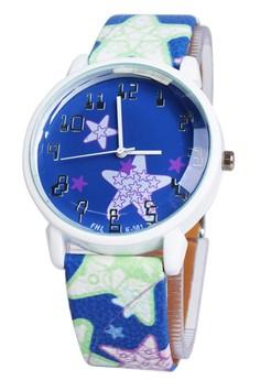OLJ Orion Star Women's Leather Strap Watch 8310