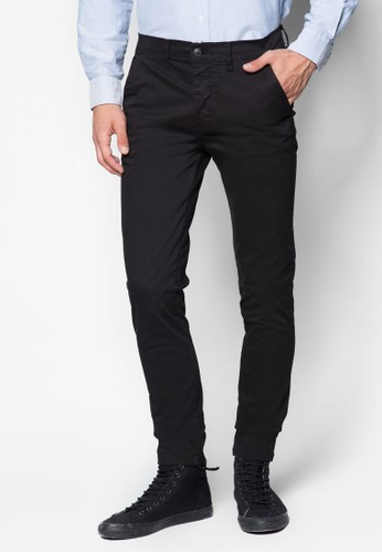 Black Stretch Skinny esprit香港分店Chinos, 服飾, 長褲