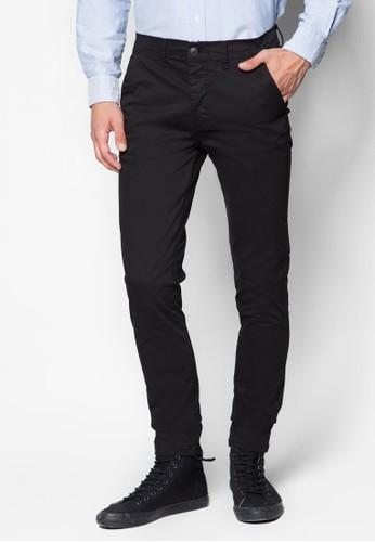 Black Stretch Skinny esprit香港分店Chinos, 服飾, 長褲