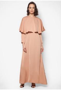 Full Cape Dress