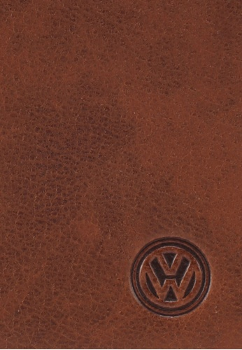 Volkswagen brown Volkswagen Genuine Leather Wallet 928EAAC9481EDFGS_1