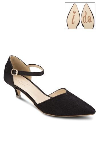 鉤花側鏤esprit高雄門市空低跟鞋, 女鞋, 鞋