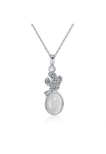 Tiaria white Tiaria Gold Plated Necklace Pendant Party KRGPN645--K10 3437EAC9F7921DGS_1