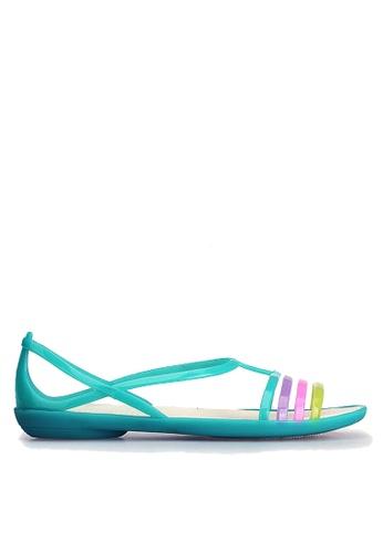 Twenty Eight Shoes 綠色 搭帶果凍雨鞋及沙灘涼鞋 VR1808 24B24SH38AD750GS_1