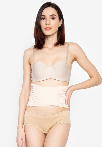 Golden Ticket Super Savers beige Tummy Pooch Binder And Minimizer D0B35US4987D05GS_1