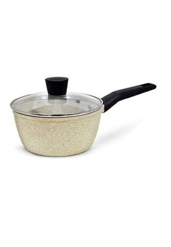 Slique white Forged Sauce Pan Premium Marble Coating 16cm 7E96DHL3050DA9GS_1