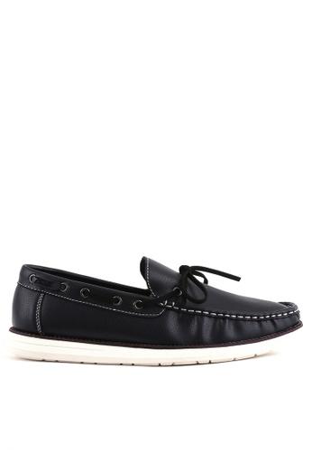 7soles black Aiden MS Smart Casual Shoes 04C66SH3B3637BGS_1