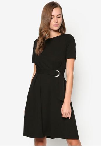 D 環腰帶zalora 鞋評價洋裝, 服飾, 正式洋裝