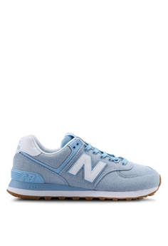 73e39f297bc New Balance blue 574 Lifestyle Shoes 4B40DSHD2279FAGS 1