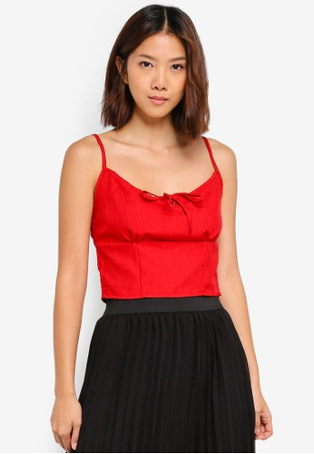 Cotton On red Taylor Cami Top 91223AA6E6A7E7GS_1