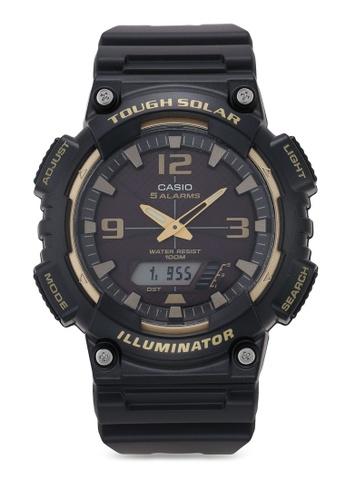 Casio black Casio AQ-S810W-1A3VDF Watch 252DFACFA9D01EGS_1