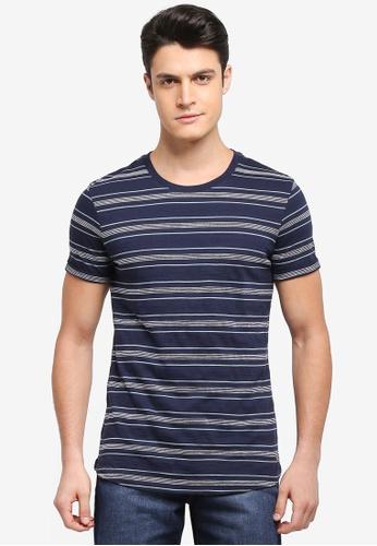 ESPRIT navy Short Sleeve T-Shirt 73CE1AA10C7EC6GS_1