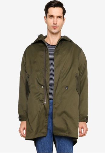 niko and ... green Woven Jacket 1D923AA2825BF7GS_1