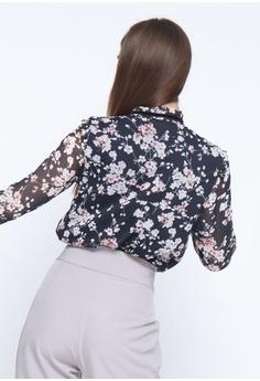 a57d7934c27 The Executive Flower Prints Blouse RM 99.00. Sizes S M L XL