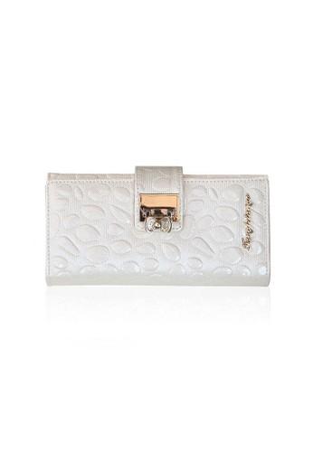 VERNYX - Woman's Tangle Tango White Dalmatian Wallet DO328 Off White - Dompet Wanita