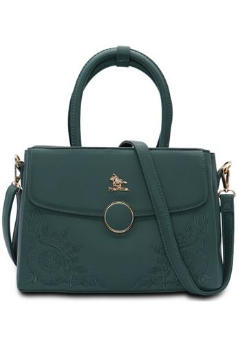 POLO HILL green POLO HILL Frieda Ladies Shoulder Bag 46F17AC7D69638GS_1