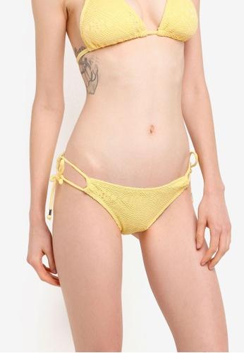 Dorina yellow Aruba-3 Tie Side Bikini Brief Bottom 1E36AUS633D0C8GS_1