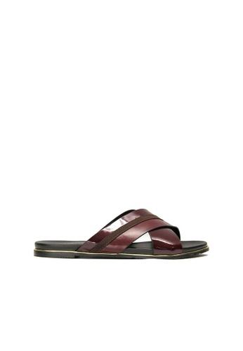 SEMBONIA red SEMBONIA Flats Shoe (Maroon) 1E006SH7342E78GS_1