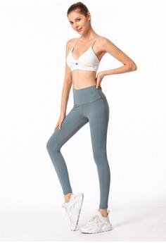 69d5d90845 ZITIQUE blue Sport Yoga Leggings 48636AA2956D6CGS 1