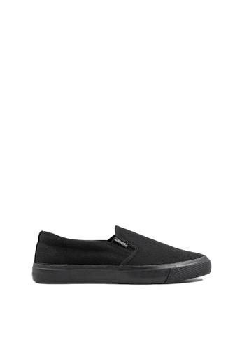 Pallas black Pallas School Shoe Jazz Slip On 407-0112 All Black 16F67SH4052633GS_1