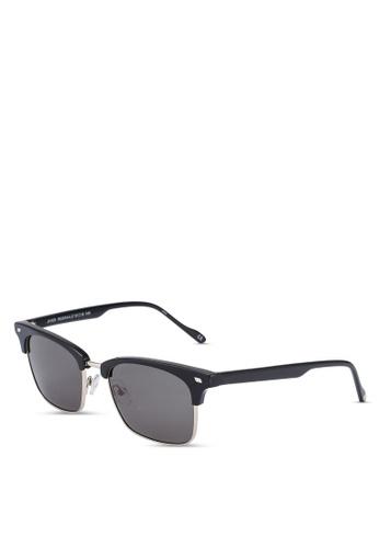 Le Specs black and gold Jiver 1926344 Sunglasses 7D844GLAC92497GS_1