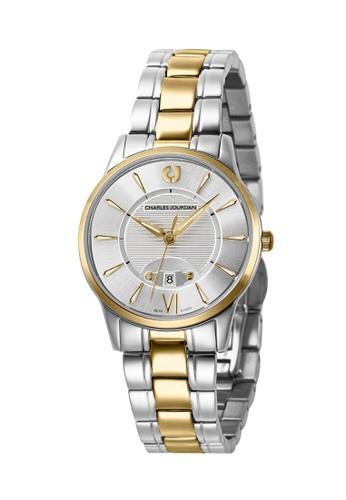 Charles Jourdan silver Charles Jourdan Ladies Watch Elegance Quartz CJ1071-2113 9C741AC3AC2FE1GS_1