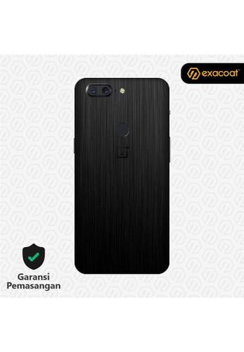 Exacoat OnePlus 5T 3M Skins Titanium Black - Cut Only 32180ESD6FB440GS_1