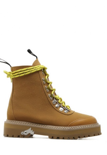 Twenty Eight Shoes yellow Fashion Riding Boots7065-1 TW446SH2UXS0HK_1