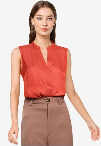 Banana Republic brown Sleeveless Shirt 526B6AA6DFEAE5GS_1